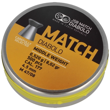 Śrut JSB Yellow Match Middle Weight 4.51mm 500szt (000016-500)