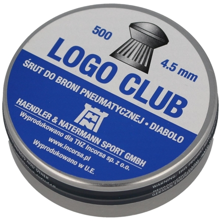 Śrut HN Logo Club 4.5mm 500szt (93114500005/LC)